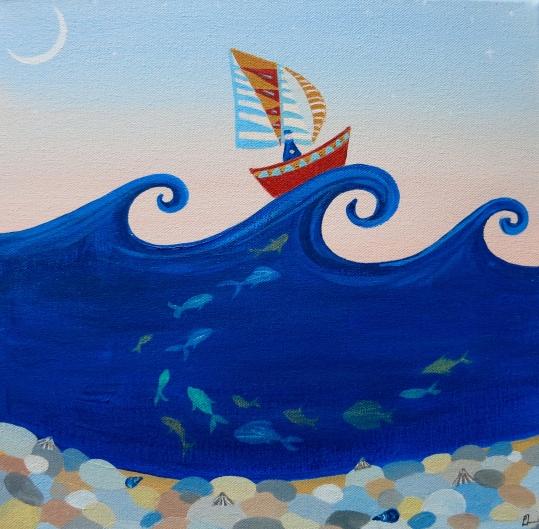 Sailing at Dawn